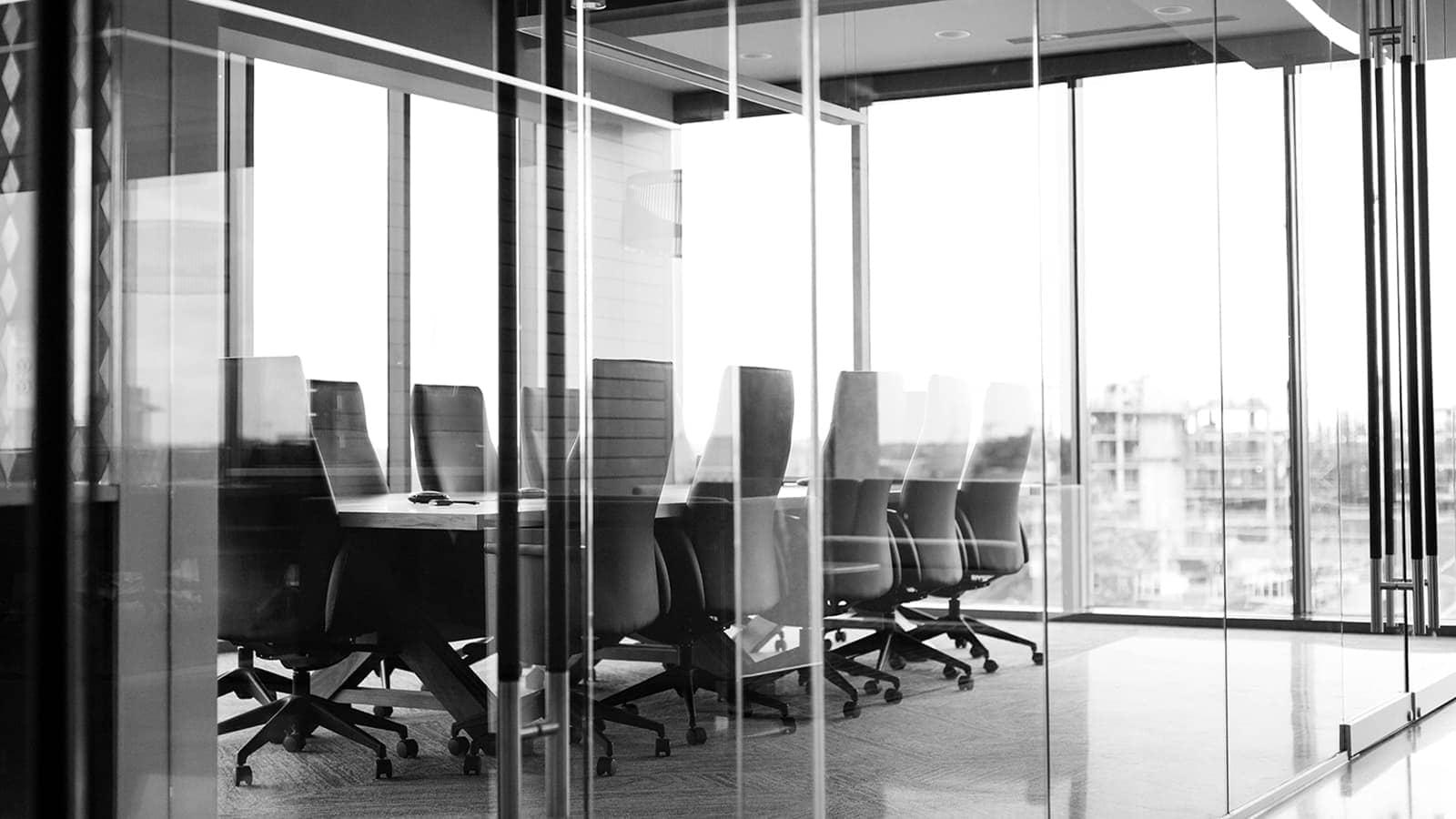 Manufacturing company hiring boardroom